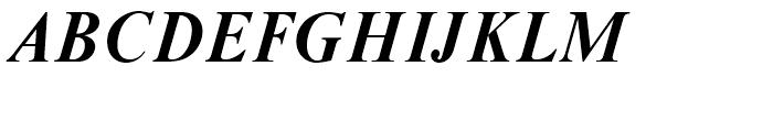 Moskva Pro Bold Italic Font UPPERCASE