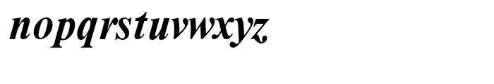 Moskva Pro Bold Italic Font LOWERCASE