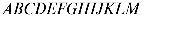 Moskva Pro Italic Font UPPERCASE