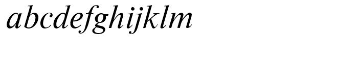 Moskva Pro Italic Font LOWERCASE