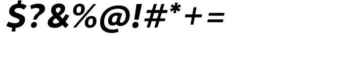 Motiva Sans Bold Italic Font OTHER CHARS