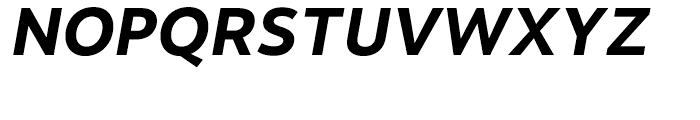 Motiva Sans Bold Italic Font UPPERCASE