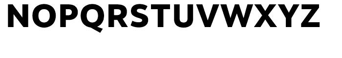 Motiva Sans ExtraBold Font UPPERCASE