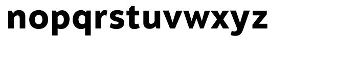 Motiva Sans ExtraBold Font LOWERCASE