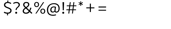 Motiva Sans Light Font OTHER CHARS