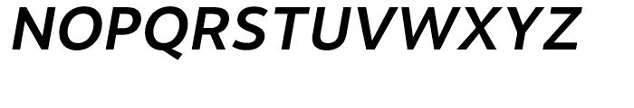 Motiva Sans Medium Italic Font UPPERCASE