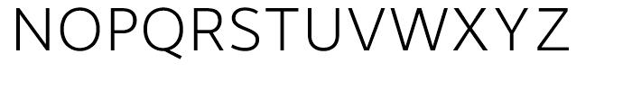 Motiva Sans Thin Font UPPERCASE