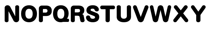 Motoya Maru W8 Font UPPERCASE