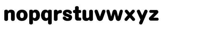 Motoya Maru W8 Font LOWERCASE