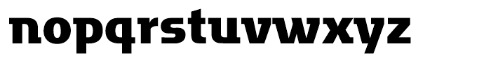 Motter Factum Bold Font LOWERCASE