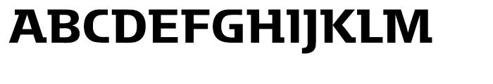 Motter Factum Medium Font UPPERCASE