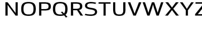 Moveo Sans Extended Medium Font UPPERCASE