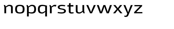 Moveo Sans Extended Medium Font LOWERCASE