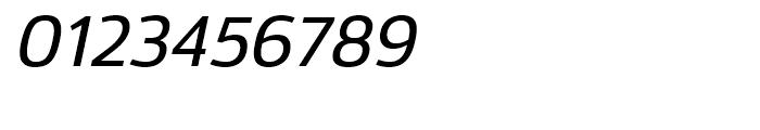 Moveo Sans Medium Italic Font OTHER CHARS