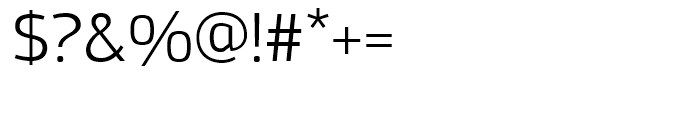 Moveo Sans Regular Font OTHER CHARS