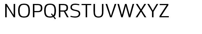 Moveo Sans Regular Font UPPERCASE