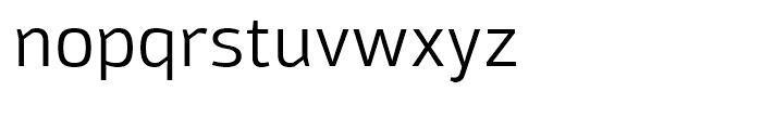 Moveo Sans Regular Font LOWERCASE