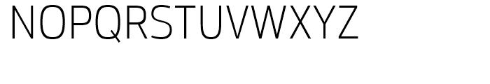 Moveo Sans SemiCondensed Light Font UPPERCASE