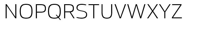 Moveo Sans SemiExtended Light Font UPPERCASE