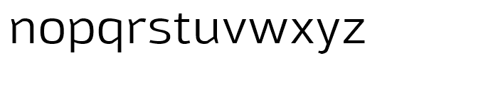 Moveo Sans SemiExtended Font LOWERCASE