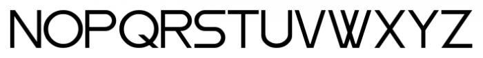 Moiser Regular Font UPPERCASE