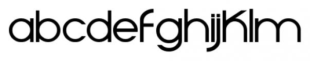 Moiser Regular Font LOWERCASE