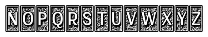 Moja Regular Font LOWERCASE