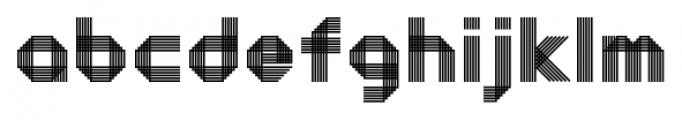 Moku26 Birch Font LOWERCASE