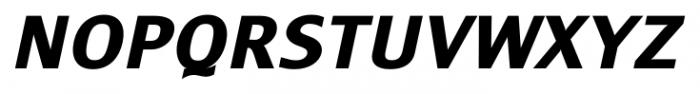 Monem ExtraBold Italic Font UPPERCASE