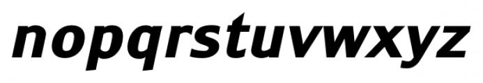 Monem ExtraBold Italic Font LOWERCASE
