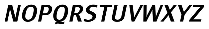 Monem MediumItalic Font UPPERCASE