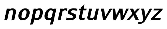 Monem MediumItalic Font LOWERCASE