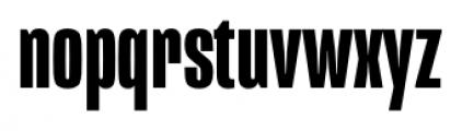 Mongoose Bold Font LOWERCASE