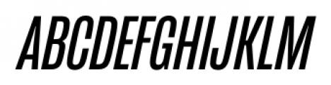 Mongoose Italic Font UPPERCASE