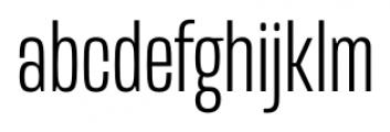 Mongoose Light Font LOWERCASE