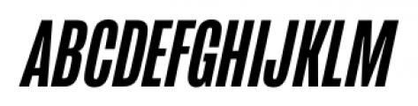 Mongoose Medium Italic Font UPPERCASE