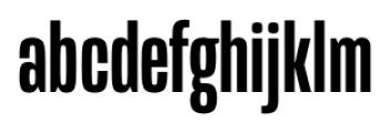 Mongoose Medium Font LOWERCASE
