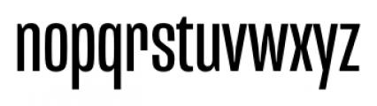 Mongoose Regular Font LOWERCASE