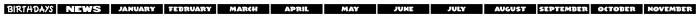 Monthly Newsletter JNL Regular Font UPPERCASE