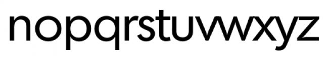 Montreal Serial Regular Font LOWERCASE