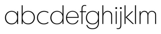 Montreal Serial Xlight Font LOWERCASE