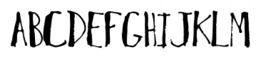 MotherGoose Regular Font UPPERCASE