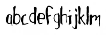 MotherGoose Regular Font LOWERCASE