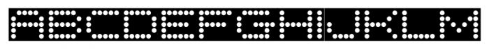 Moving Message JNL Regular Font LOWERCASE