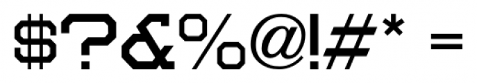 Moving Van JNL Regular Font OTHER CHARS