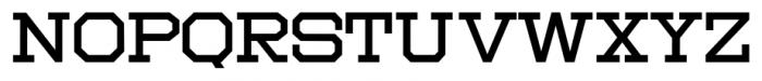 Moving Van JNL Regular Font UPPERCASE