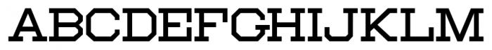 Moving Van JNL Regular Font LOWERCASE