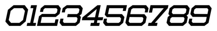 Moving Van Oblique JNL Regular Font OTHER CHARS