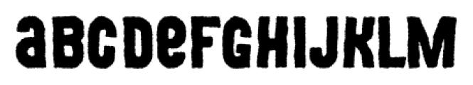 Movskate Grip Font LOWERCASE