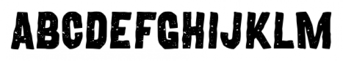 Movskate Hardgrip Font UPPERCASE